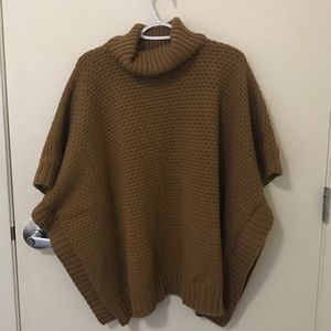 Brown Forever 21 Poncho